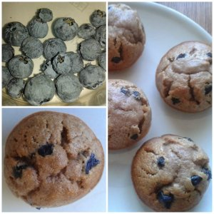 muffin myrtilles