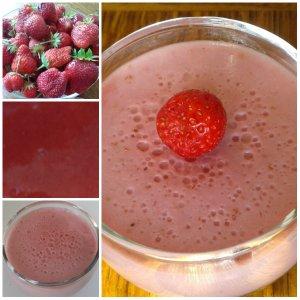 crème a la fraise