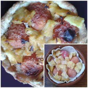 tarte abricots ananas