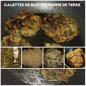 galette de blettes pomme de terre