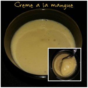 crème a la mangue