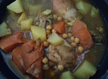 poulet butternut
