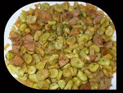 Saute-dinde-aux-feves