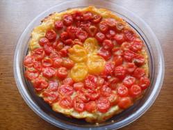 tatin tomate cerises