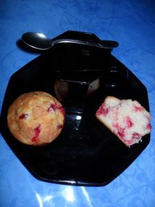 muffins groseilles