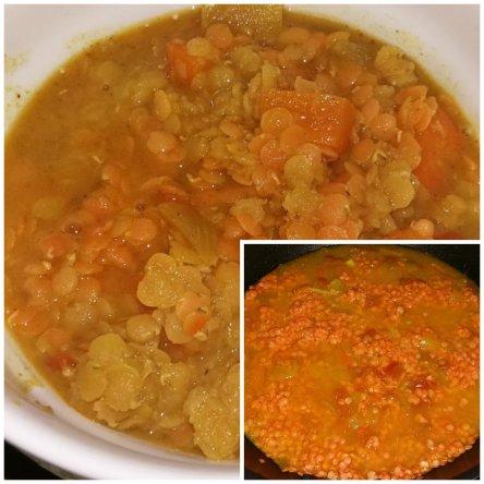 soupe lentille de corail