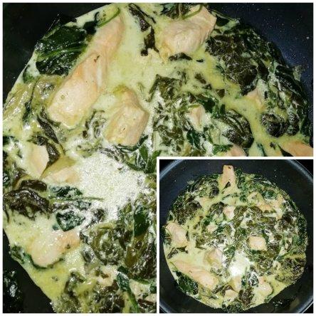 epinard saumon