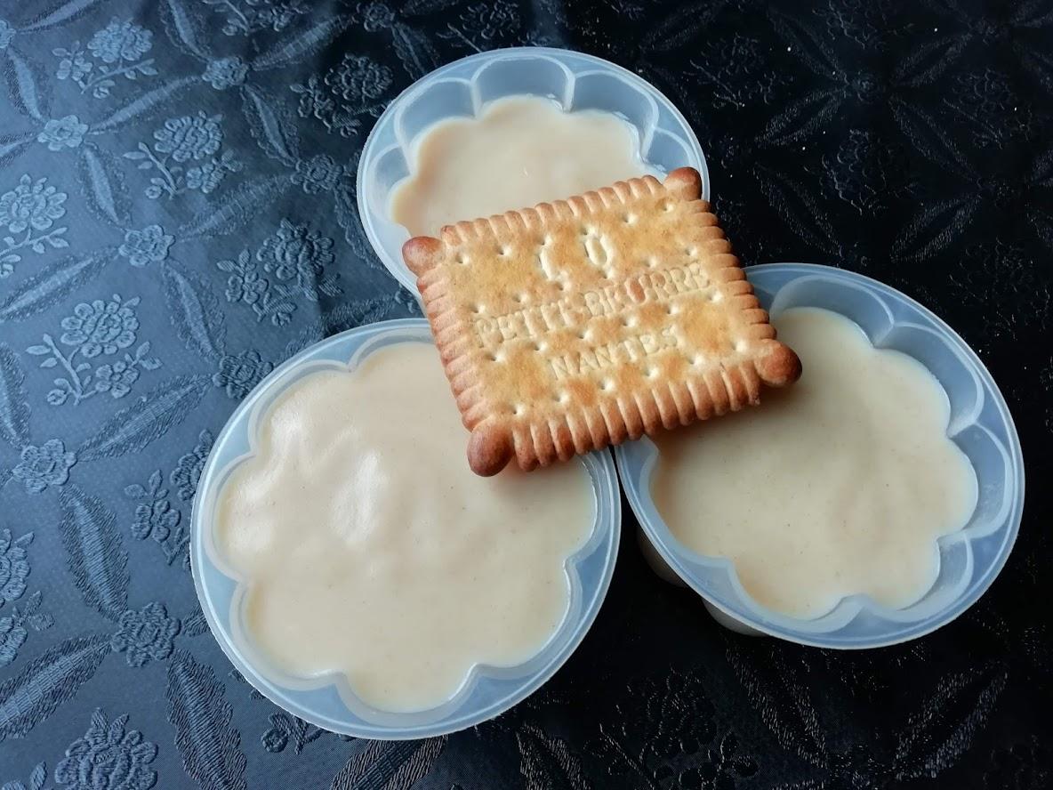crème biscuit